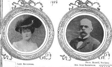 Sir John & Lady Brickwood, 1906